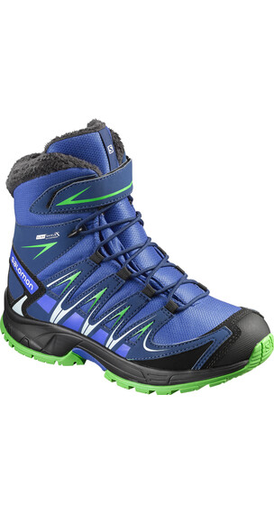 Salomon Kids XA Pro 3D Winter TS CSWP Shoes Blue Yonder/Blue Depth/Peppermint